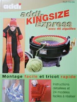 Turbo-Tricot modles pour le tricotin ADDI KING SIZE 