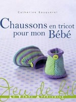 Chaussons en tricot pour mon Bb