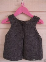 Gilet Mini Fillette