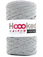 HOOOKED RIBBON XL la pelote - silver grey