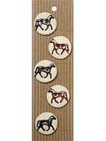 Boutons 5 chevaux