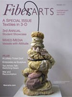 Fiber Arts - November December 2007