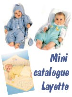 Mini catalogue Layette