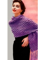 Crescendo shawl