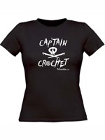 Captain Crochet   fille/en noir