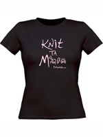 Knit ta mre  fille/en noir