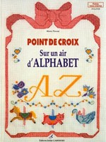 Point de croix sur un air d'alphabet