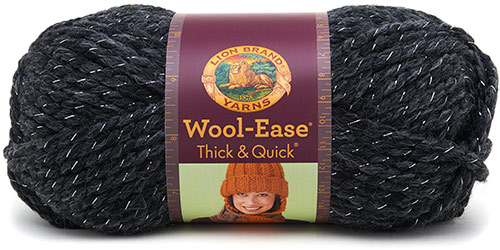 WOOL EASE thick and quick de chez Lion Brand en vert