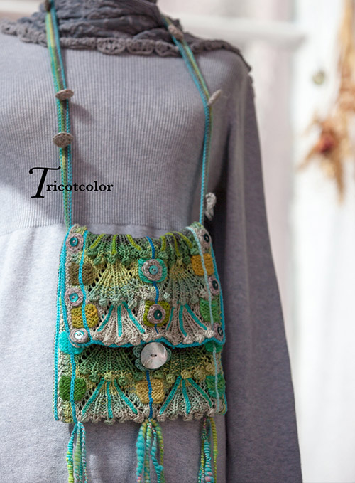 Sac Vetiver par Tricotcolor