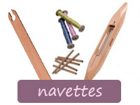 Navettes de tissage