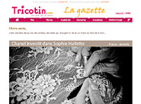 La gazette des arts textiles du 23 avril