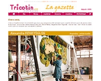 La newsletter des arts textiles