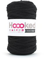 HOOOKED RIBBON XL la pelote - black night