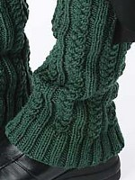 Cabled Legwarmers