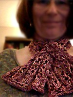Reversible Lacey Scarf