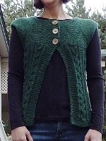 Cables & Garter Cardi
