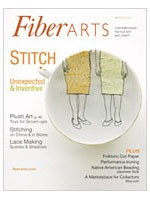 Fiber Arts - Septembre October 2008