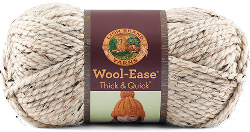 WOOL EASE thick and quick de chez Lion Brand en beige