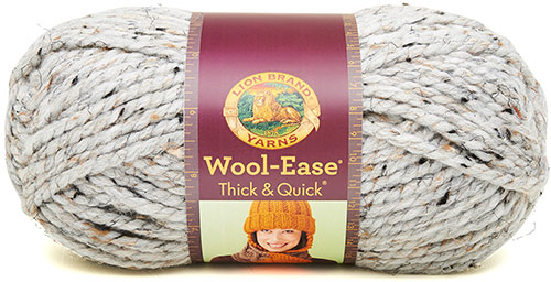 WOOL EASE thick and quick de chez Lion Brand en crème