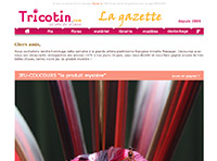 Gazette des arts textiles du 31 octobre 2014