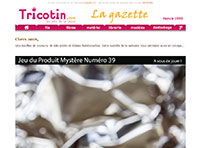 Gazette des arts textiles du 15 avril 2016